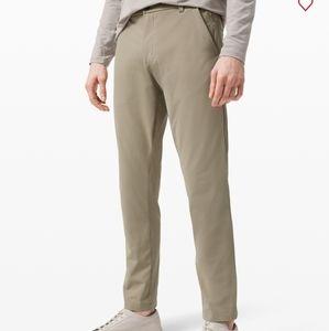 Lululemon Commission Pants in Light Khaki